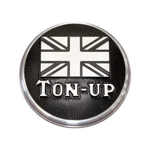 Speed Dealer Customs Gas Cap Top for Triumph TON UP