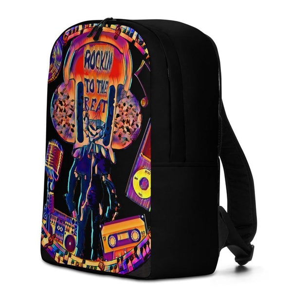 Rockin to th Beat Minimalist Backpack