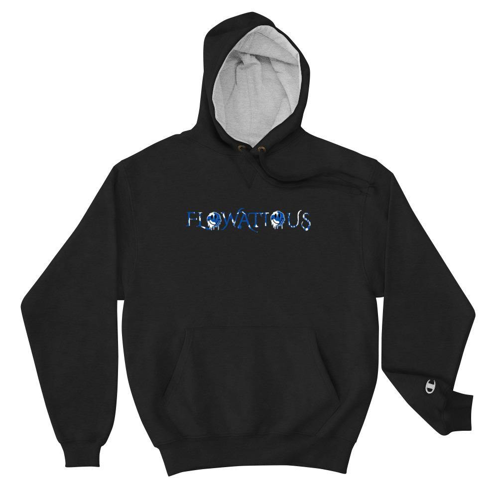 Flowatious Happy Drip Champion Hoodie - Flowatious