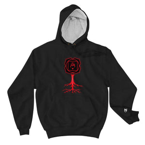 Flowatious Root Chakra Champion Hoodie - Flowatious