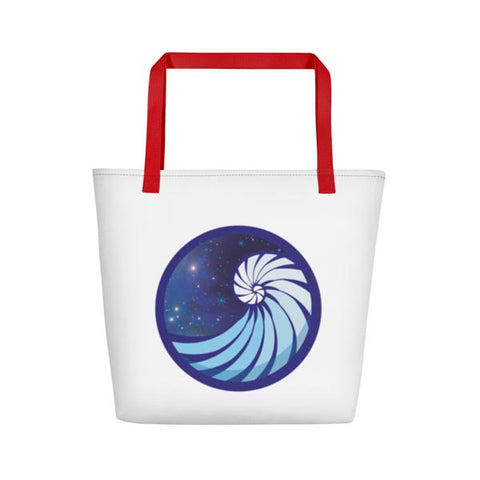 Image of GHRL Wave Symbol - Beach Bags
