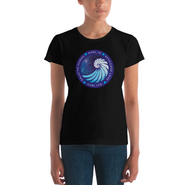 GHRL Badge - T-shirts - Ladies Fit