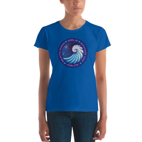 Image of GHRL Badge - T-shirts - Ladies Fit