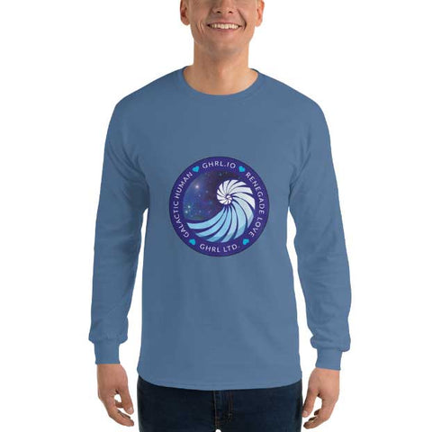 Image of GHRL Badge - Long Sleeve Shirts