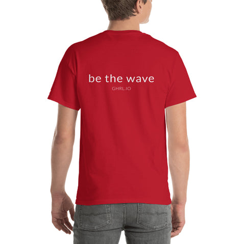 Image of GHRL Wave Symbol -  T-shirts - Gildan 2000