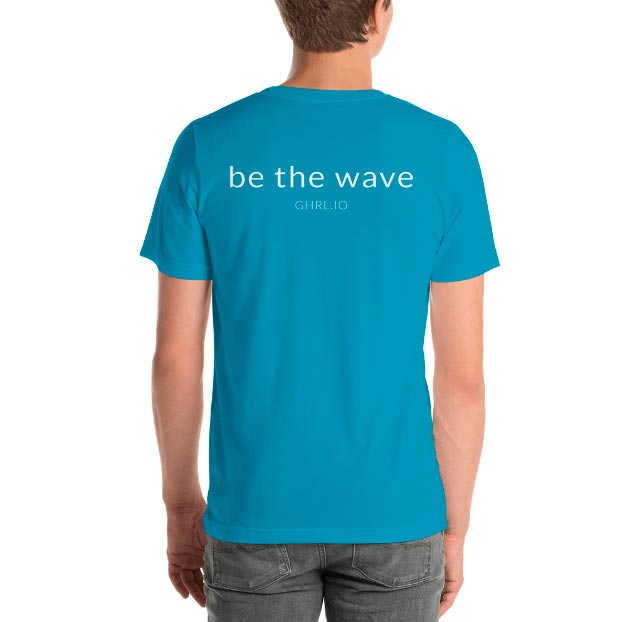 GHRL Wave Symbol - T-shirts - Bella 3001