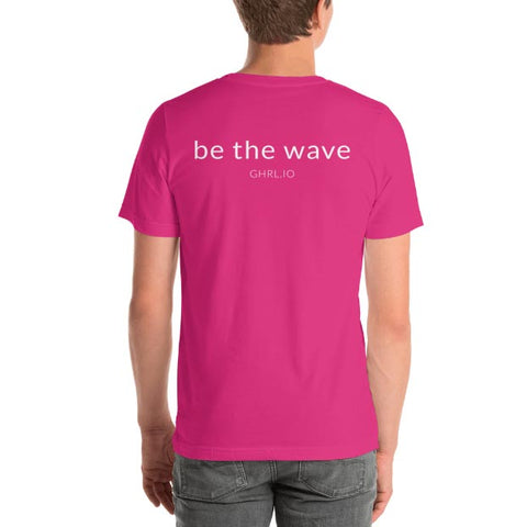 Image of GHRL Wave Symbol - T-shirts - Bella 3001
