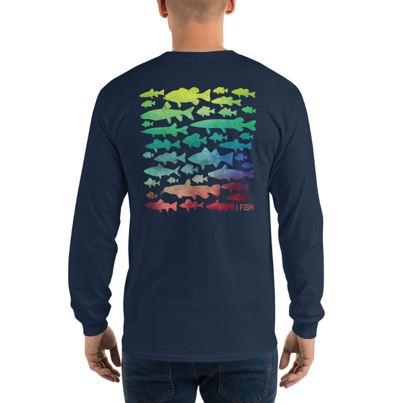 FISHING Long Sleeve T-Shirt - Freshwater