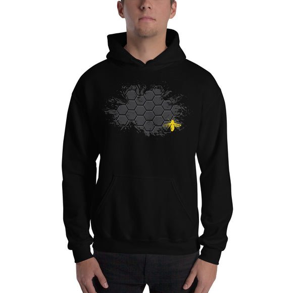 BEE HIVE Hooded Sweatshirt
