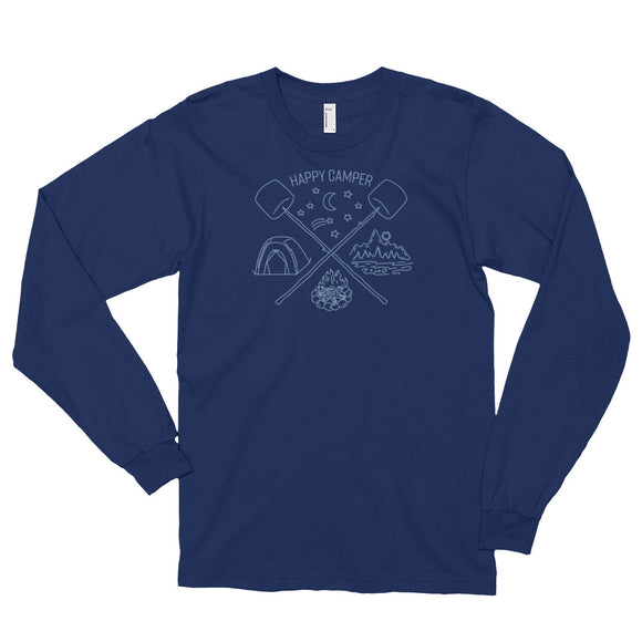 CAMPING Long sleeve t-shirt (unisex)