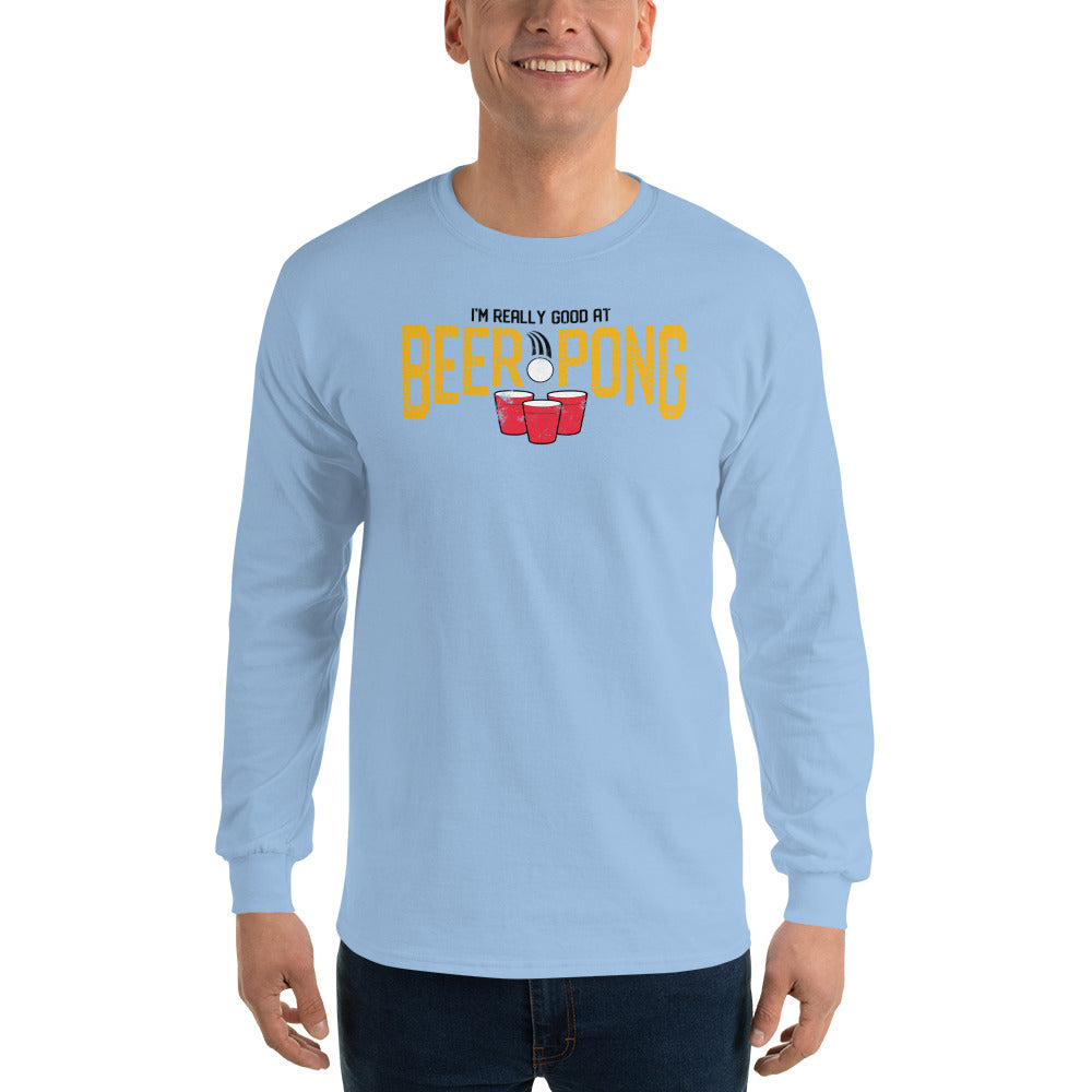 BEER PONG Long Sleeve T-Shirt – Bunkybee 138d6d6d7