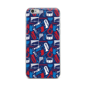 MARCHING BAND iPhone Case
