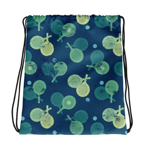 paddle drawstring bag
