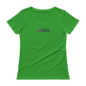 BEE COOL Ladies' Scoopneck T-Shirt