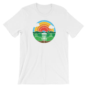 DISC GOLF Short-Sleeve Unisex T-Shirt