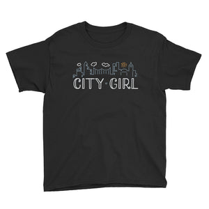 CITY GIRL Youth Short Sleeve T-Shirt