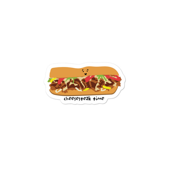 cheesesteak vinyl sticker