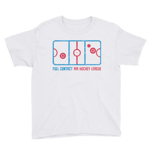 AIR HOCKEY Youth Short Sleeve T-Shirt Unisex