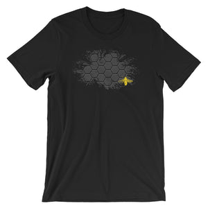 BEE HIVE Short-Sleeve Unisex T-Shirt