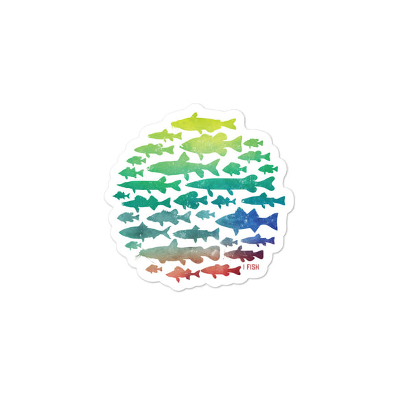 FISHING Bubble-free stickers