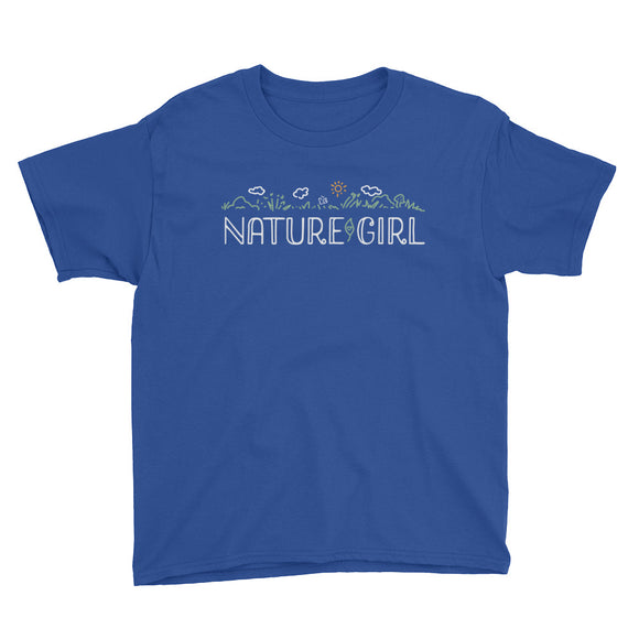 NATURE GIRL Youth Short Sleeve T-Shirt