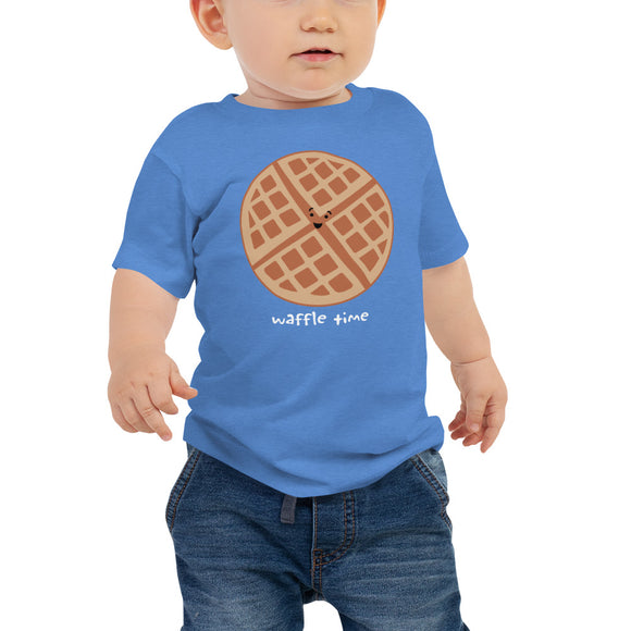 WAFFLE TIME Baby Jersey Short Sleeve Tee