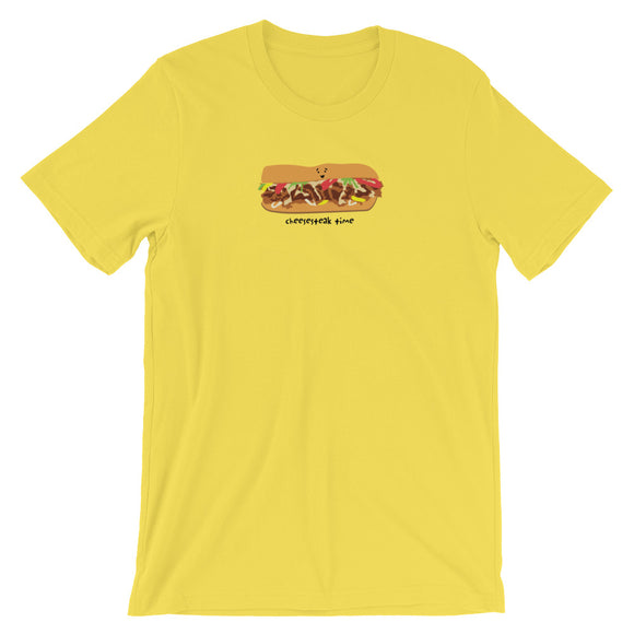 CHEESESTEAK TIME Short-Sleeve Unisex T-Shirt