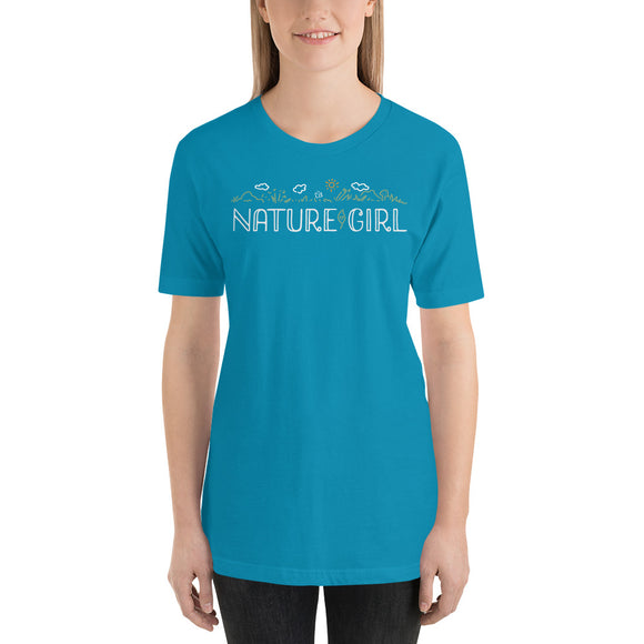 NATURE GIRL Short-Sleeve Unisex T-Shirt