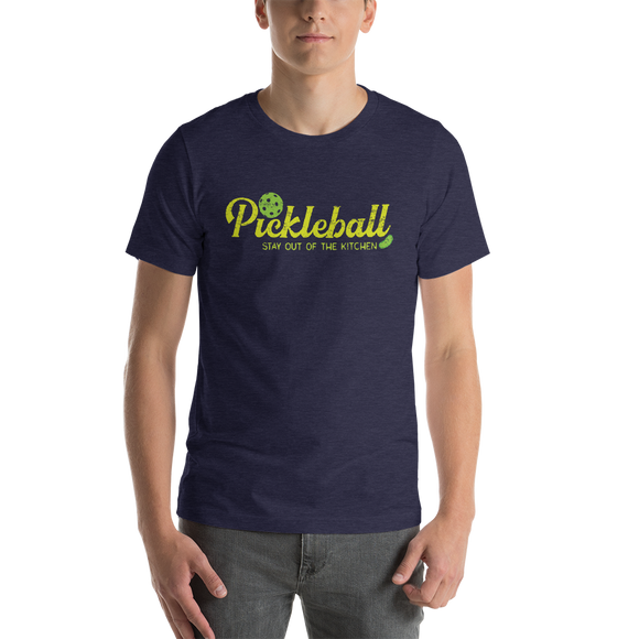 PICKLEBALL Short-Sleeve Unisex T-Shirt