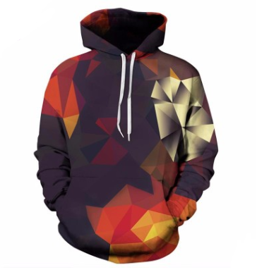 Color matching digital printing baseball uniform Explosive models hooded sweater