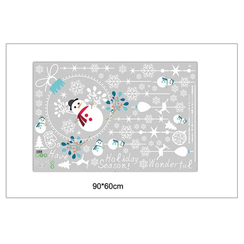2018 Merry Christmas Household Room Wall Sticker