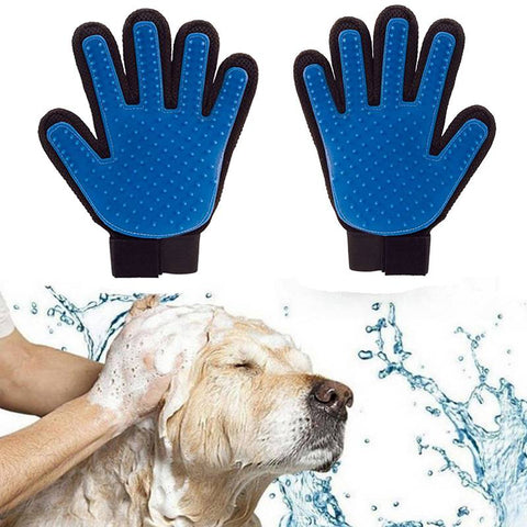 bath gloves for pet,dog hair removal brush