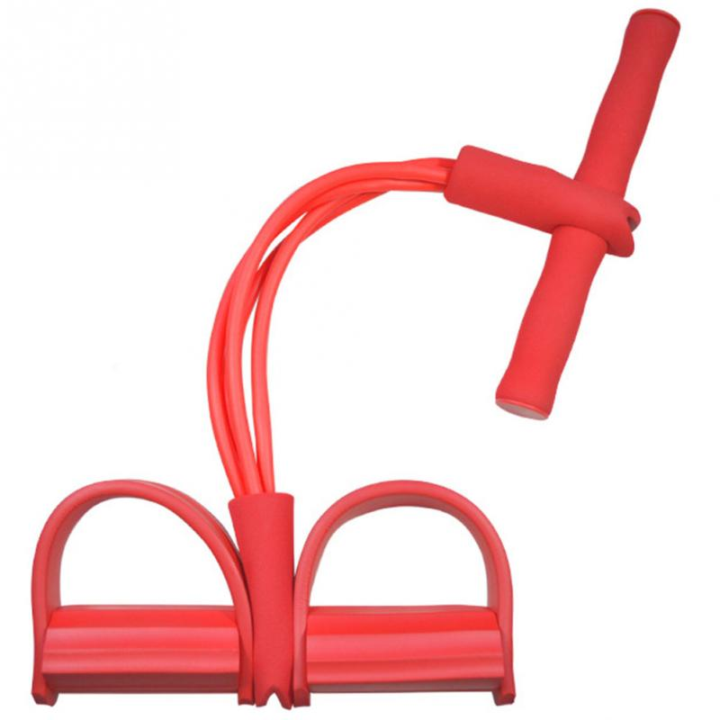 Four-legged pedal pedal puller sit-ups abdominal device men and women multi-functional fitness equipment