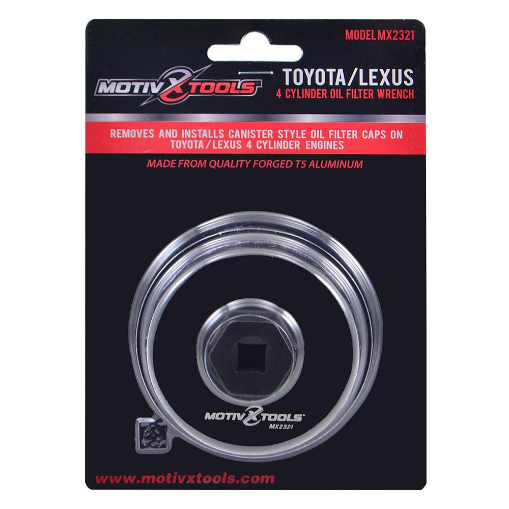 Toyota, Lexus, Scion 64mm Oil Filter Wrench For