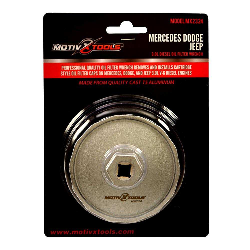 Mercedes, Dodge, Jeep 84mm Oil Filter Wrench