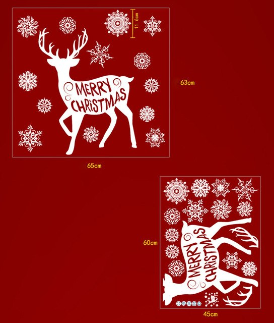 Merry Christmas Background Wall Decoration