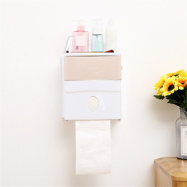 No Trace Bathroom Kitchen Shelf Storage Rack