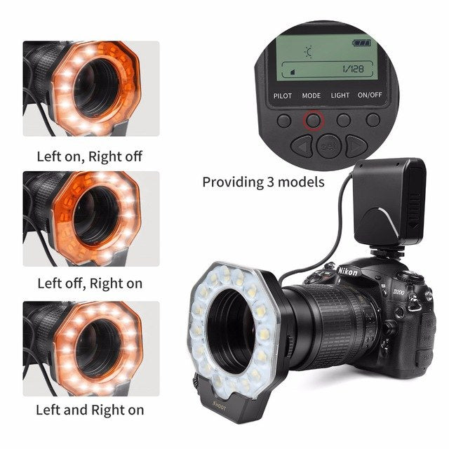 Macro Led Ring Light Flash Speedlite with