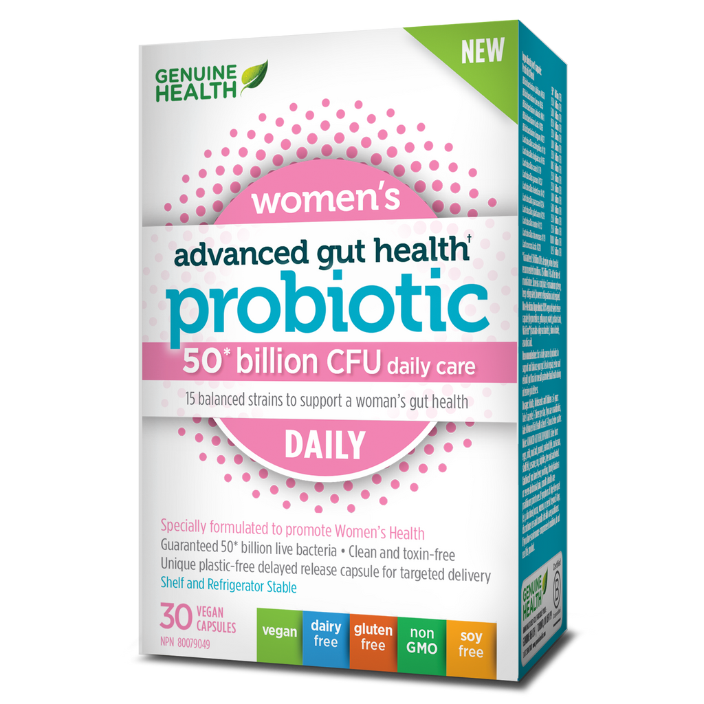 Advanced Gut Health Probiotic Womens Daily