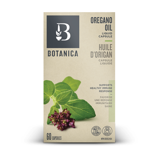 Oregano Oil Liquid Capsules