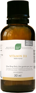 Vitamin D 1000IU 30mL