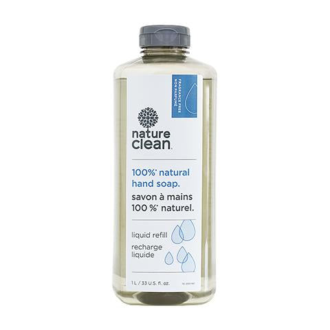 Nature Clean 100% Natural Hand Soap Refill Size