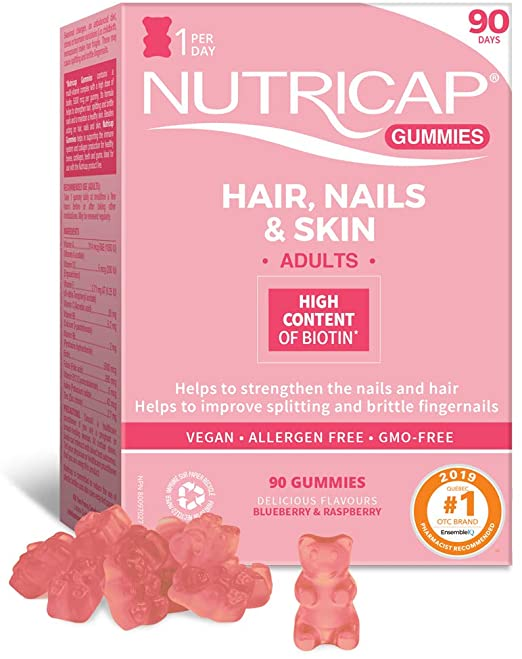 Hair, Nails & Skin Gummies