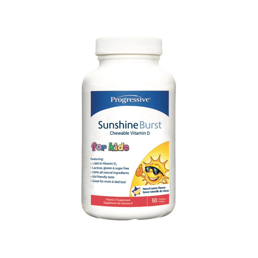 Kids Vitamin D Sunshine Bursts