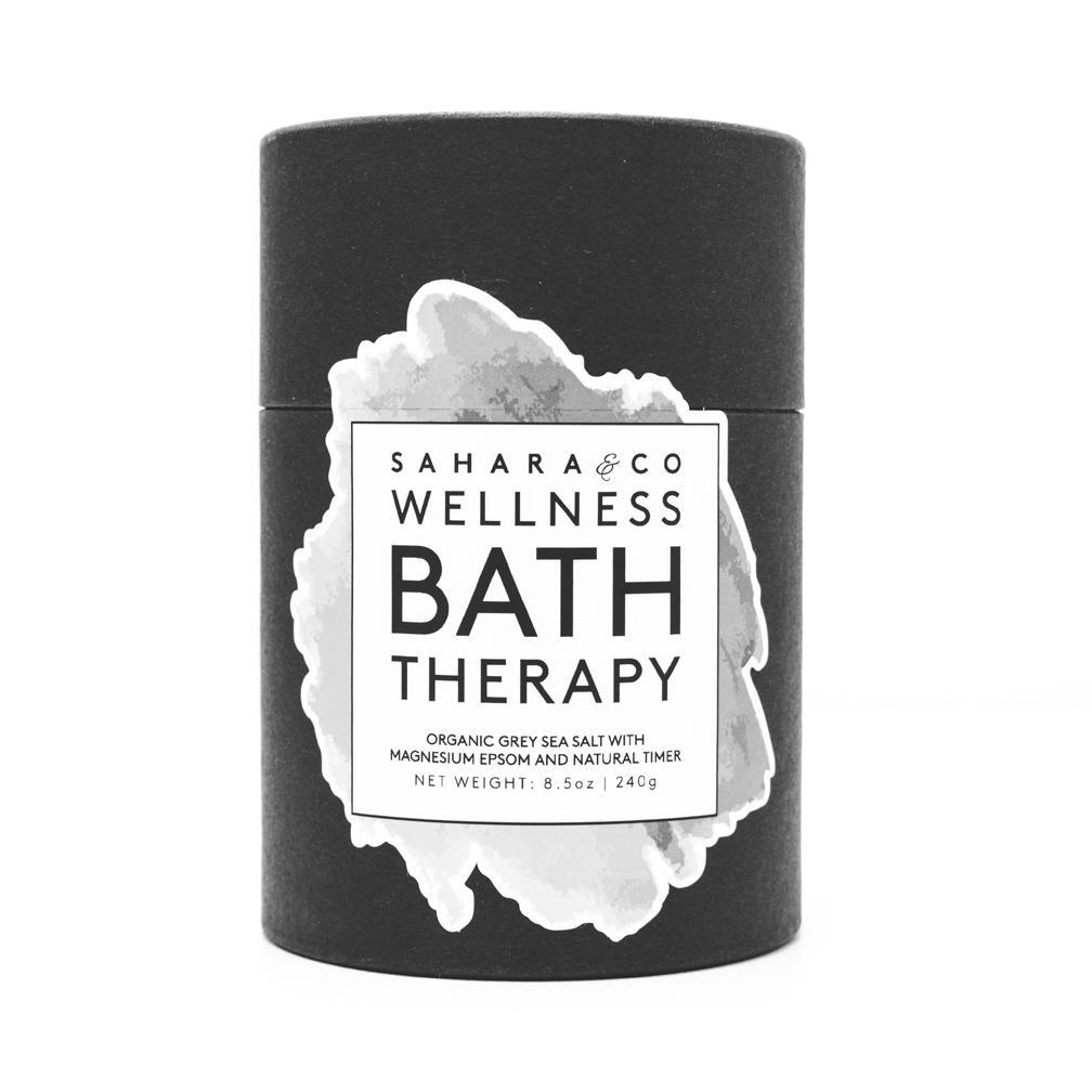 Organic Grey Sea Salt Bath Therapy