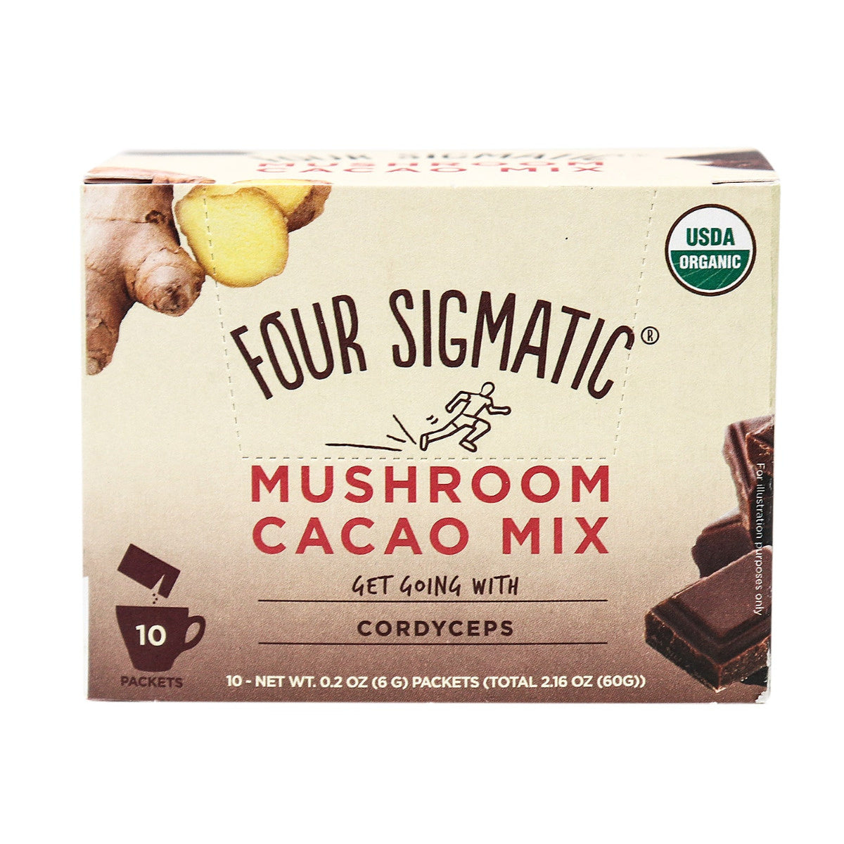 Mushroom Hot Cacao Mix with Cordyceps