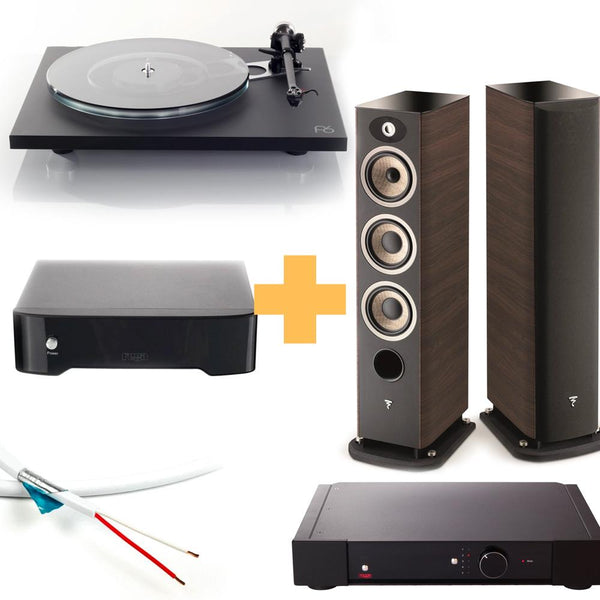 EOFY Package #4: Rega Planar 6 + Ania MC + Rega Elex-R + Fono MC + Focal Aria 926 New Zealand