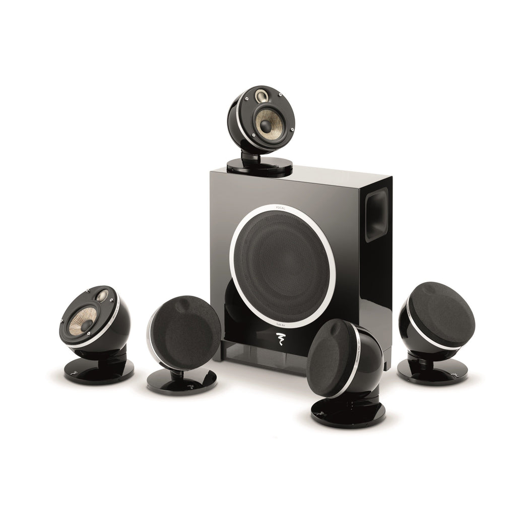 Focal - Dôme Flax Pack 5.1 + Sub Air - Home Theatre System New Zealand