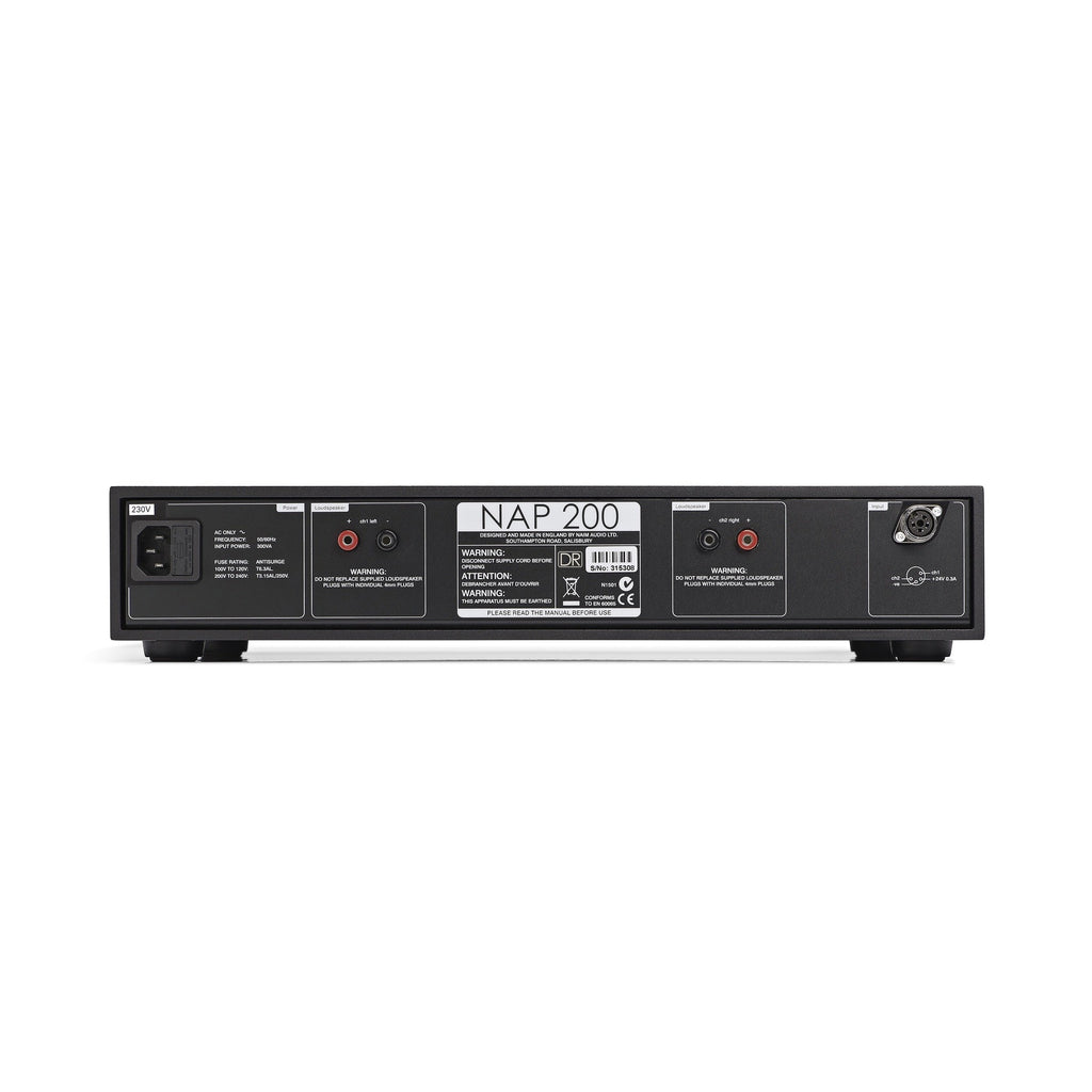 Naim - NAP200 DR - Power Amplifier New Zealand
