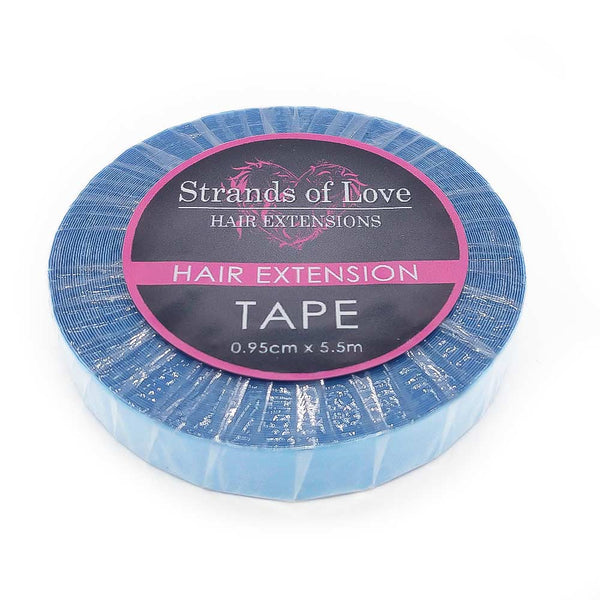 Hair Extension Re-Bonding Tape Roll - Blue German Tape